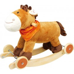 Rocking Horse with Sound and Wheels